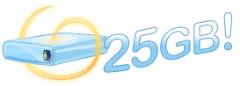 SkyDrive: 25 GB Online Storage Space