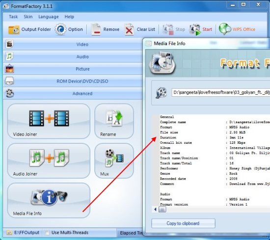 Free Media Converter, ISO Creator, Audio Video Joiner, File