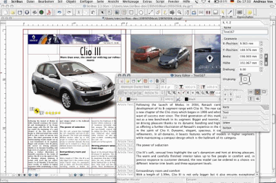 Free Scribus Desktop Publishing Software