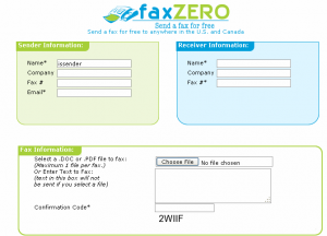 Send Free Fax Online