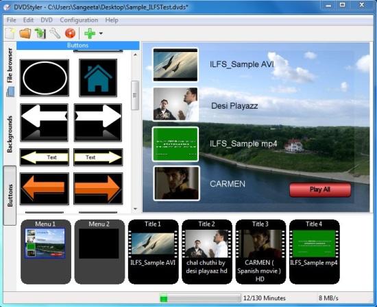 DVD Styler - DVD Creation