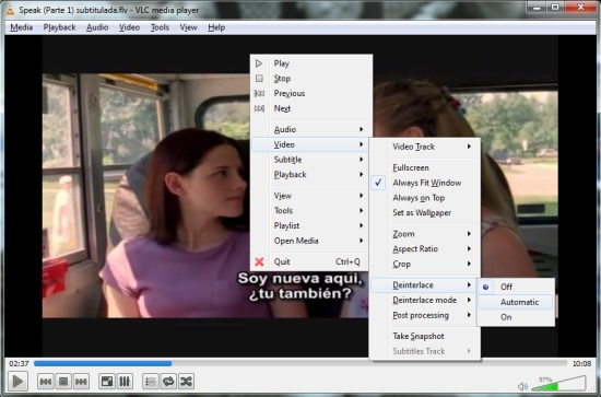 VLC Media Player - Options