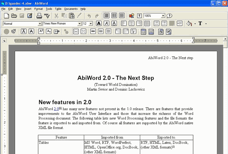 download word processor for free