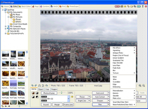 Photoscape Editor Interface