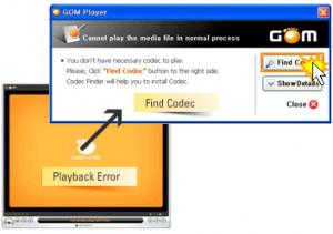 GOM Codec Finder