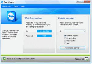 TeamViewer Interface