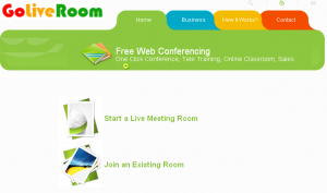 GoLiveRoom Free Web Conference
