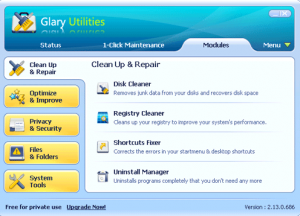 Download Glary Utilities Free
