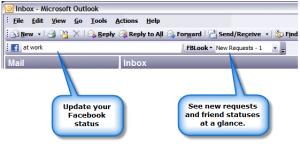 Update FaceBook From Outlook Using FBLook