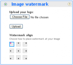 Add Image Watermark to Pictures