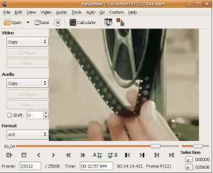 Avidemux Free Open Source Video Editor