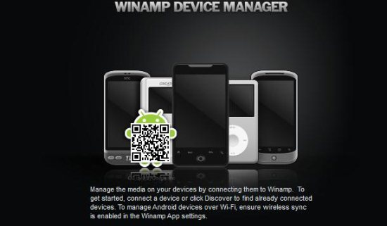 winamp devices