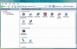 Archive Explorer Deskcretary Clean Up Desktop
