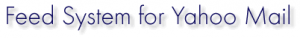 Create Feed for Yahoo Mail