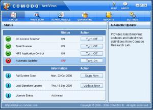 Download Comodo Free Antivirus