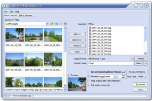 Download FastStone Photo Resizer for Batch Conversion of Images