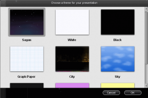 Free Themes for Powerpoint presentations