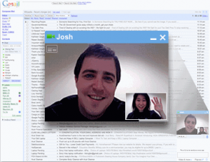 Gmail VideoChat and Voice Chat inside Gmail