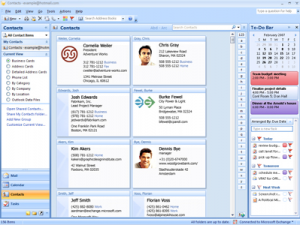 Hotmail Contacts in Outlook