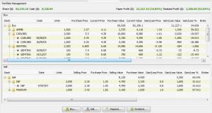 JStock Track Stock Portfolio