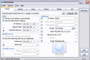 NetSetMan - Manage Your Network Profile Settings