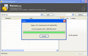 Recuva Deleted Files Recovery Software