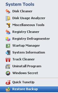 TweakNow Free Suite of System Utilities