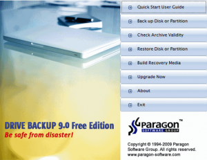 Download Drive Backup express 9 free edition