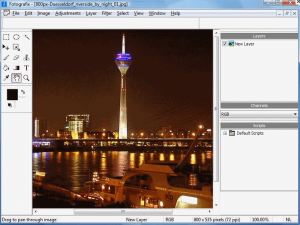 Download Fotografix - free replacement for Photoshop