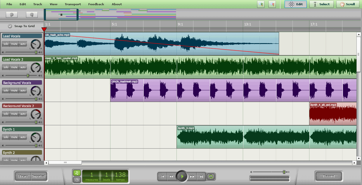 Download Myna: Free Online Audio Editor to Mix your Tracks