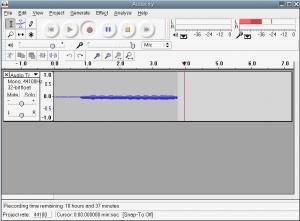 Record Audio with Audacity