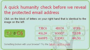 Scr_Im Captcha Test to reveal Email Address
