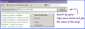 Search MP3 Songs by Lyrics