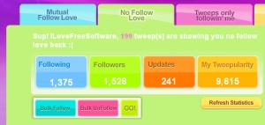 Tweepular - Mass follow and Unfollow Twitter users