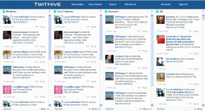 TwitHive Free Web based Twitter Client