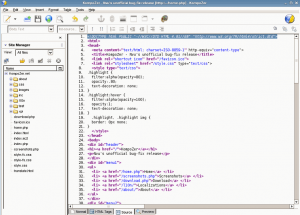 Download Kompozer Web Page Editor