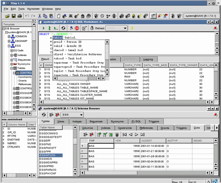 4 free software to replace toad and pl  sql developer