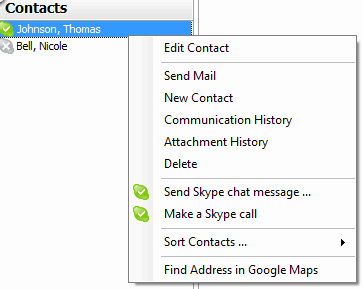 em Client Integration with Skype