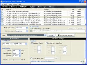 Download Pazera Free Audio Extractor