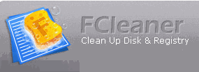 FCleaner - Free Disk and Registry Cleaner