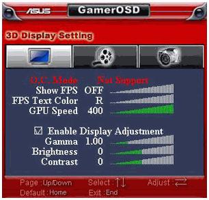 GamerOSD Boost Graphics Card Performance