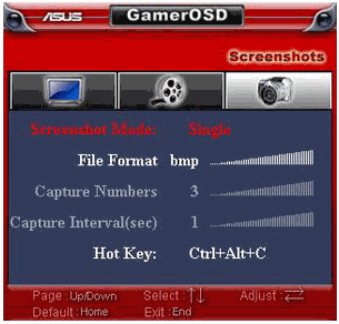 GamerOSD Screenshot of Gameplay