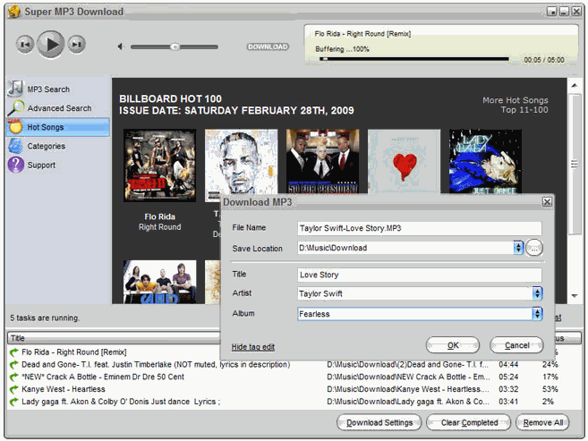 Super MP3 Download: Free MP3 Downloader