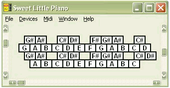 Sweet Little Piano Software