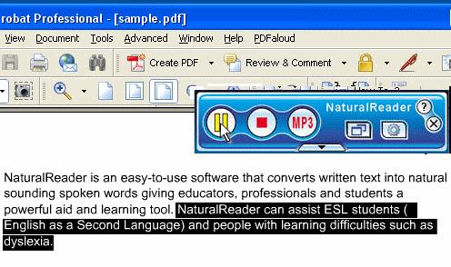 NaturalReader Free Text to Speech Program