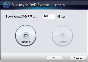 Blu-ray to DVD Express - DVD Size