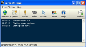 ScreenStream Interface