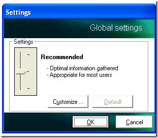 Kaspersky GetSystemInfo Settings