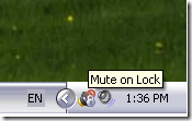 Mute On Lock
