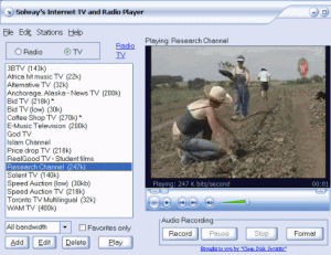 Solway Internet TV Radio Player
